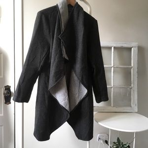 Suzy Shier Grey oversized coat XL